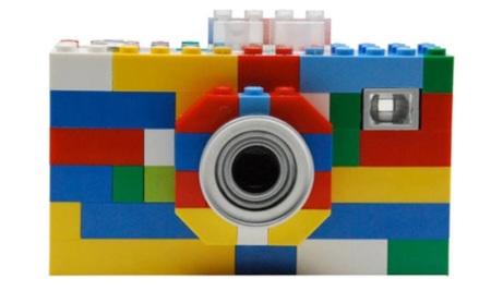Câmera fotog'rafica digital da Lego